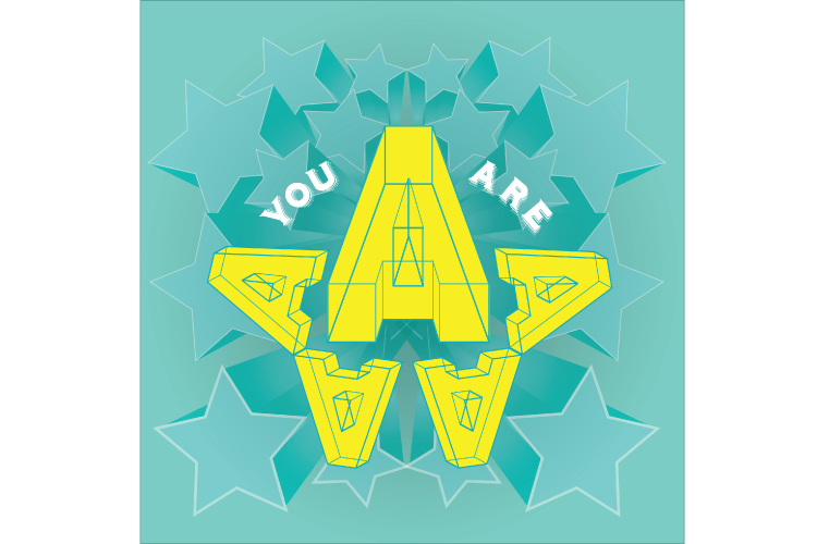 Letter A: You are 'A' Star