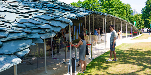 Installation at The Serpentine Pavilion 2019
