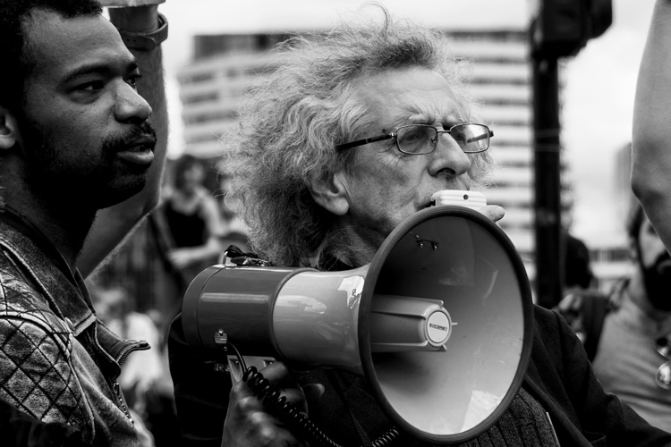 Piers Corbyn and his group conspiracy theorists