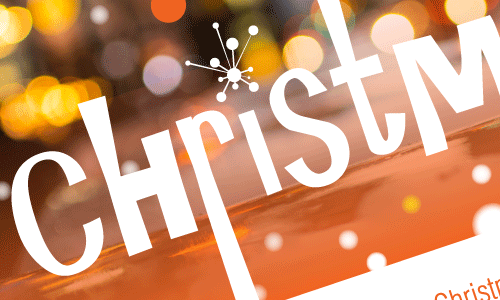 Christmas promotional poster for St Matthew's Church, 